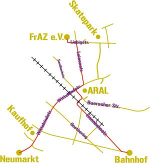map fraz